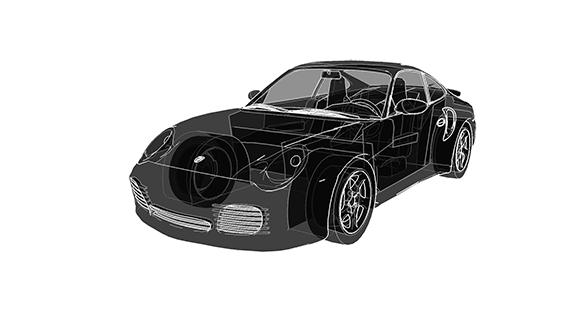 Simulateur sport cut conduite automobile