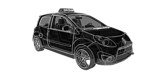 voiture auto-école simulateur conduite Mobsim