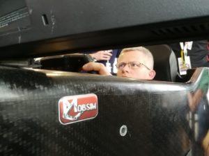 Emmanuel Collard Mobsim Full Carbon - simulateur de conduite auto