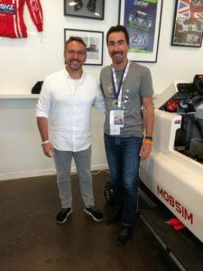 Luc Alphand 24h du Mans & Pita
