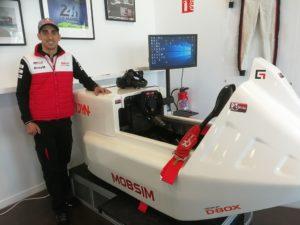 Sébastien Buemi Mobsim 24h du Mans