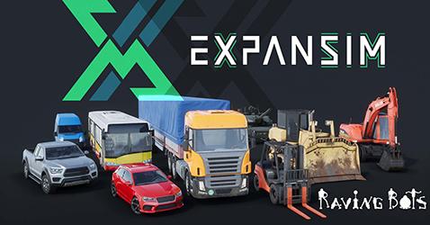 Expansim Raving Bots, partenaire Mobsim simulation virtuelle